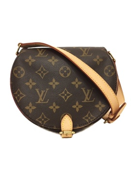 Take Louis Vuitton Tambourin M51179 Monogram Used Monogram Canvas Louis Vuitton Shawl Slant; Lady's Shoulder Bag | The Lv Louis Vuitton Present Present Whole Pattern Genuine Article Judgment Finished Which There Is A Brown Gold Red Soft Leather Preservat by Rakuten Global Market