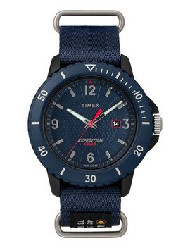 Expedition Gallatin Solar 44mm Fabric Strap Watch by Timex