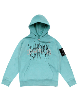 Hoodie Thunder Bridge Lake Blue Reflective by Wasted