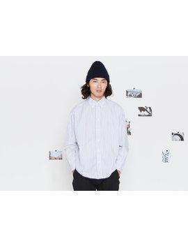 Shirt. Type A, Version 12. White/Blue Stripe. by Entireworld
