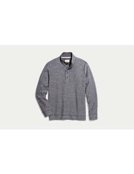 Clayton Pullover In Charcoal Heather by Marine Layer