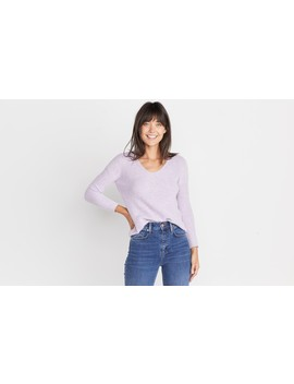 Elisa Pullover In Heather Lilac by Marine Layer