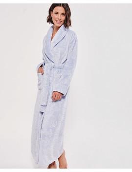 Textured Long Robe by La Vie En Rose