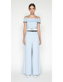 Crepe Off The Shoulder Jumpsuit by Cue
