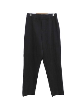 Homme Plisse Issey Miyake 19 Ss Pleats Tapered Pants Charcoal Gray Size: 1 (... 100cm) (オムプリッセイッセイミヤケ) by Rakuten Global Market
