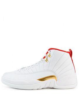 Air Jordan 12 Retro White/University Red Metallic Gold by Jordan