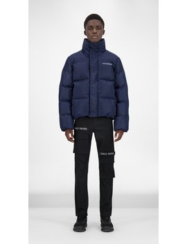 Navy Core Puffer Jacket by Daily Paper