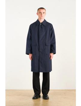 Menswear | Raglan Mac, Navy by Olive