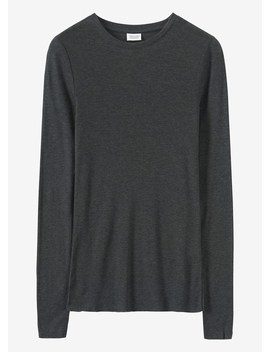 Wool Tencel Long Sleeve Tee by Toast