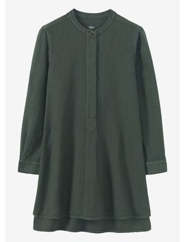 Elena Cotton Linen Tunic Shirt by Toast