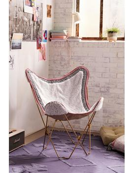 Amped Fleece Butterfly Chair Cover by Urban Outfitters
