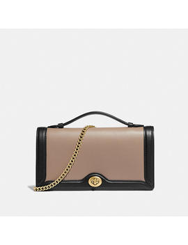 Riley Chain Clutch In Colorblock by Coach