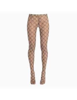 Gg Pattern Tights by The Double F