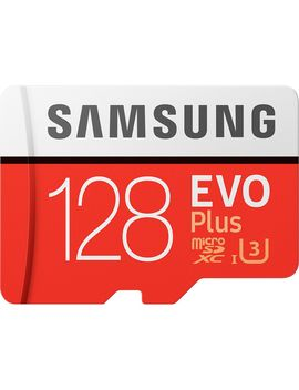Card De Memorie Samsung Micro Sdxc Evo Plus 128 Gb, Class 10, Uhs I U3 + Adaptor Sd by Samsung