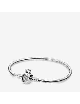Pandora Moments Crown O & Snake Chain Bracelet by Pandora