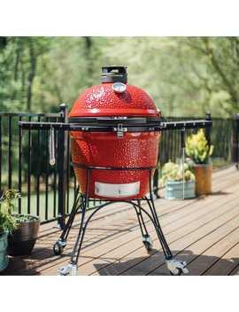 Kamado Joe Classic Ii Kamado Charcoal Red Grill by Kamado Joe