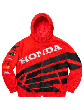 Supreme®/Honda®/Fox® Racing Puffy Zip Up Jacket by Supreme