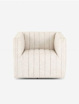 Roz Swivel Chair, Dover Crescent by Lulu & Georgia