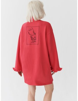 Lazy Oaf Bloomer Drop Sweater Dress by Lazy Oaf