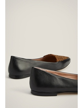 Sloane Hair On Loafer by Witchery