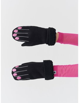 Lazy Oaf Keep Your Mitts Off Mittens by Lazy Oaf