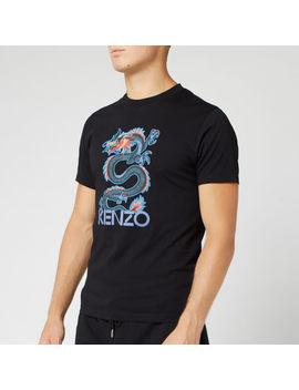 Kenzo Men's Dragon Slim T Shirt   Black by Kenzo