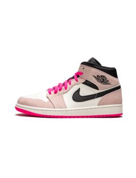 "air-jordan-1-mid-se-""crimson-tint_hyper-pink"" by jordan"