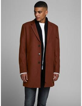 Wool Dress Coat by Jack & Jones