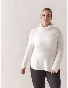 Long Sleeve Turtleneck Sweater   Active Zone by Penningtons
