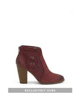Frasitta Perforated Bootie by Vince Camuto