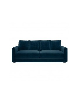 4 Seater Sofa Bed Ink Blue 4 Seat Sofabed by Rupert                             Rupert