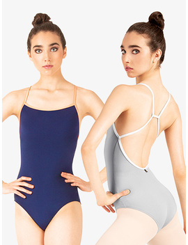 """""""Alina"""" Adjustable Loop Camisole Leotard Lean And Gorgeous My Go Togreat For Rehearsal Fit Not Same As Others Purple Dye Runs Like Crazy Disappointing Very Pretty But Can Be Awkward I Love It!Flattering, But Watch The Dye!Is This Leotard Shelf Lined? by Discount Dance Supply"""