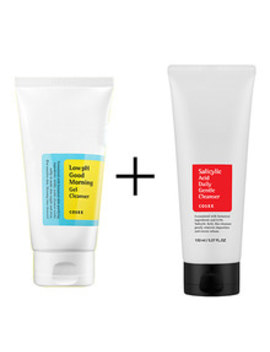 Cosrx Low P H Good Morning Gel Cleanser 150ml + Salicylic Acid Daily Gentle Cleanser 150ml by Jolse