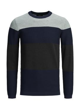 Colourblock Premium Sweater by Jack & Jones