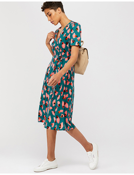 Veronica Print Midi Dress by Monsoon