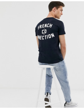 french-connection-back-print-logo-t-shirt by french-connection