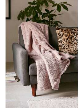 pink-amped-fleece-throw-blanket by urban-outfitters