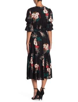 garden-floral-midi-dress by love-stitch