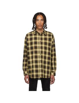 brown-check-painter-shirt by stolen-girlfriends-club