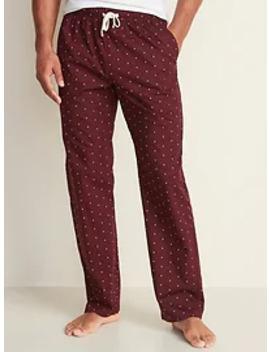 printed-poplin-pajama-pants-for-men by old-navy