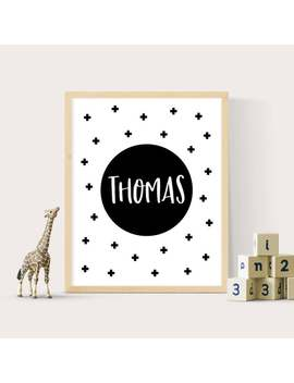 name-print,-monochrome-print,-square-prints,-monochrome-nursery,-black-and-white-print,-kids-name-print,-name-printable,-kids-wall-art by etsy
