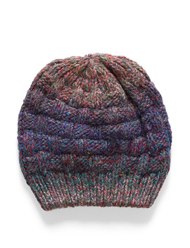 colourful-graded-knit-tuque by simons