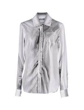 patterned-shirts-&-blouses by moschino