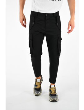 stretch-cotton-pants by dsquared2