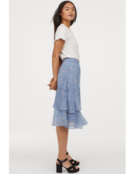 gonna-in-chiffon by h&m