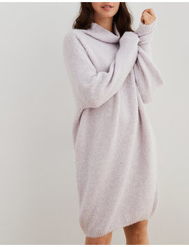 aerie-turtleneck-sweater-dress by american-eagle-outfitters