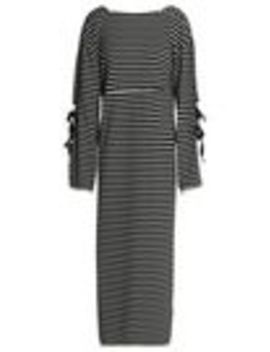 tie-detailed-striped-cotton-jersey-maxi-dress by 31-phillip-lim