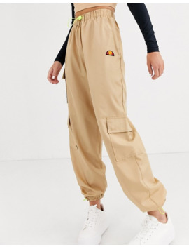 ellesse-high-waist-cargo-pants-with-pockets by ellesse