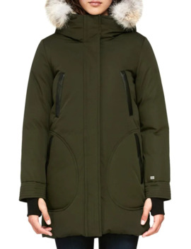 coyote-fur-trim-hooded-down-coat by soia-&-kyo