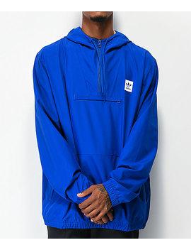 adidas-hip-royal-blue-anorak-jacket by adidas
